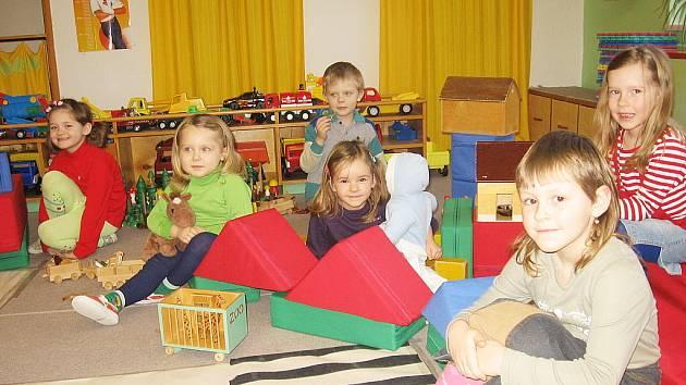 Děti v malešovské mateřské škole.