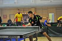 Stolní tenisté se utkali ve Zruči nad Sázavou