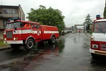 Povodeň ve Vrdech. 25.6.2013