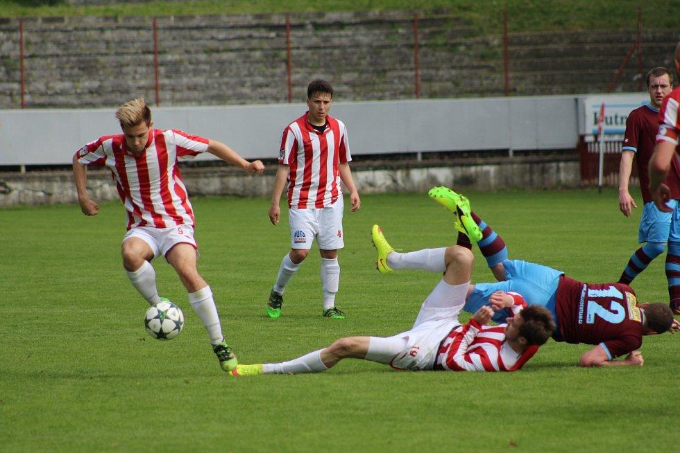 Kutná Hora uhrála s posledním náchodem pouze bezbrankovou remízu. V penaltách padla.