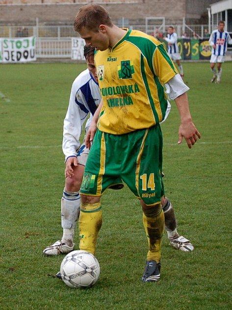 Z utkání II. ligy Čáslav - Sokolov (1:2)