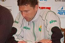 Trenér Sokolova Martin Hašek