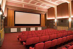 Kino Modrý Kříž v Kutné Hoře.