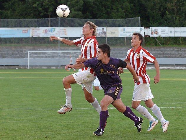 1. kolo Divize C: Kutná Hora - Lhota pod Libčany 1:1, 12. srpna 2012.