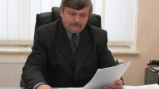 František Barták, předseda Okresního mysliveckého spolku Kutná Hora.