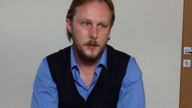Zajímavá přednáška Davida Velešínského se konala v Dačického domě.