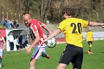 Fotbalisté Kutné Hory v přípravě remizovali 2:2.