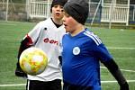 Fotbalový přípravný zápas, mladší žáci, kategorie U13+U12: FK Čáslav - SK Sparta Kolín 8:5 (1:0, 2:2, 5:3).