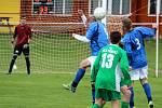 Fotbalová III. třída: TJ Sokol Červené Janovice - FC Bílé Podolí B 1:2 pk (0:0).