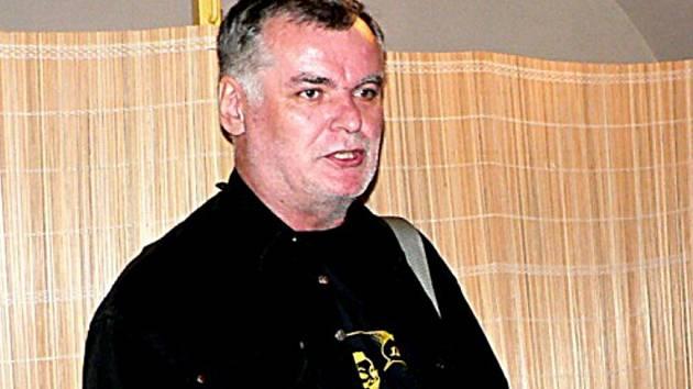 Šéfredaktor časopisu Pivní kurýr Richard Crha.
