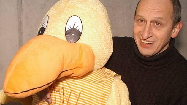 Svou tvář propůjčil projektu pomáhajícího dětem také Jan Kraus.