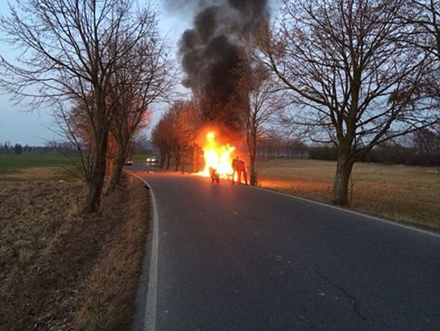 Nehoda u Košic.