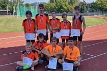 Mladší žáci SKP Olympia Kutná Hora skončili jako třetí tým na finále krajského přeboru.