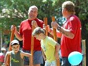 Dětský den ve Zbýšově. 3.7. 2010