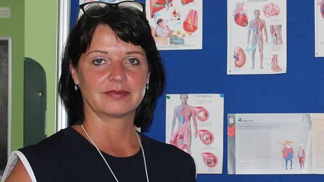 Radka Šušková z firmy New Dimension, která má čáslavskou nemocnici vyvést z krize.