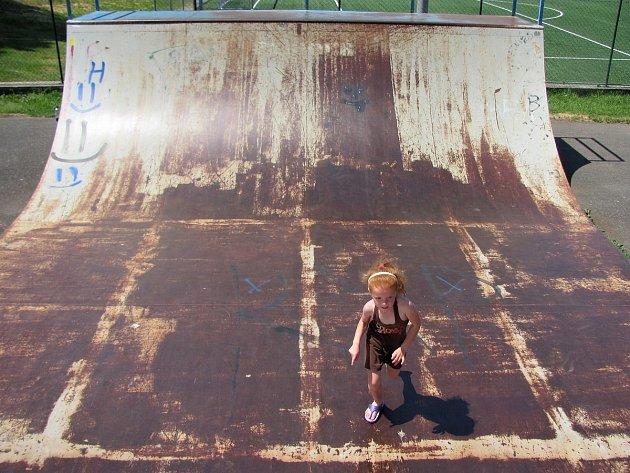 Skatepark v Čáslavi.