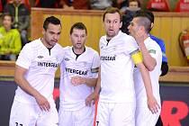 I. finále play off CHANCE futsal ligy: FK ERA-PACK Chrudim - FC Benago Zruč n. S. 6:4 (3:2), 17. května 2016.