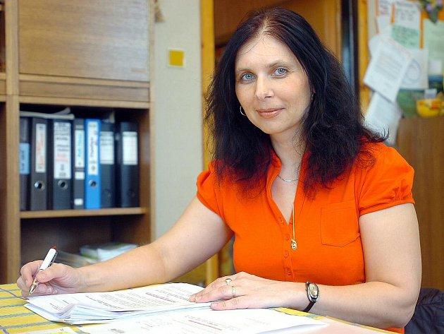 Kristýna Jirkovská, starostka obce Petrovice I.