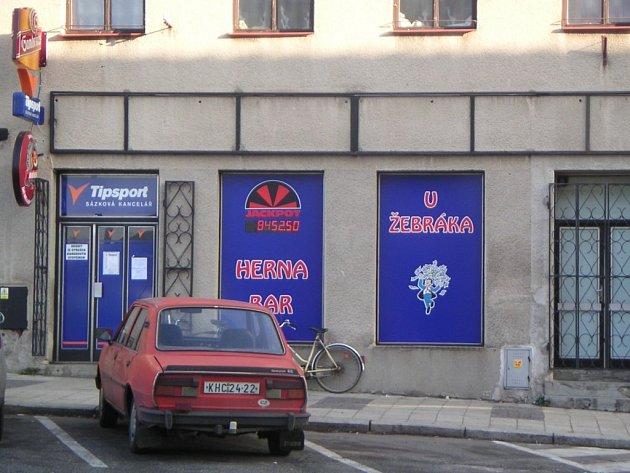 Herna U Žebráka v Uhlířských Janovicích.
