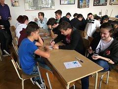Studenti soutěžili v oblastním kole v Kutné Hoře.
