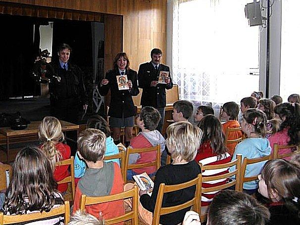 Policisté navštívili kutnohorskou školu.