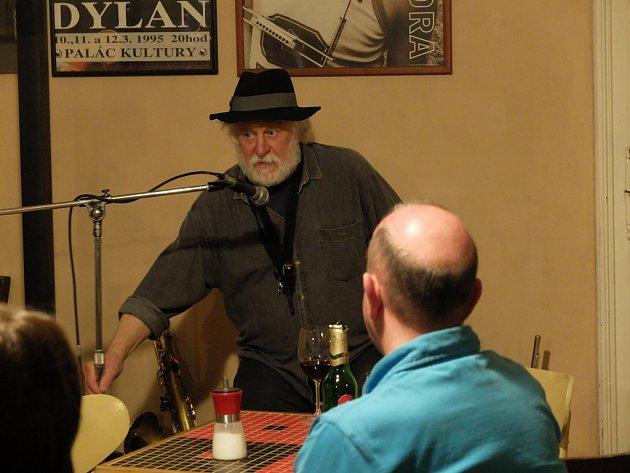 Joe Kučera v Blues Cafe