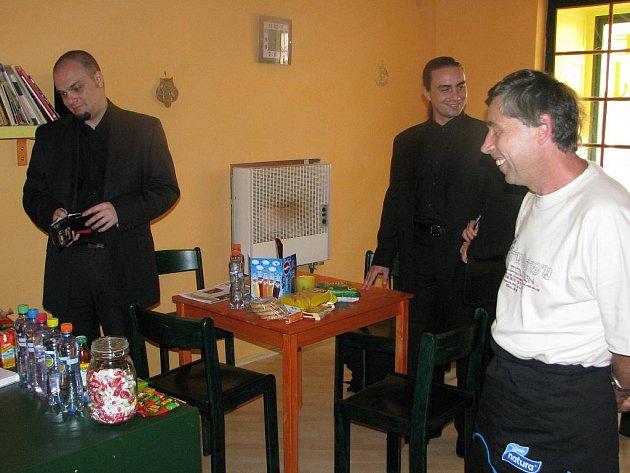 Kavárna Bartoloměj s infocentrem a galerií.