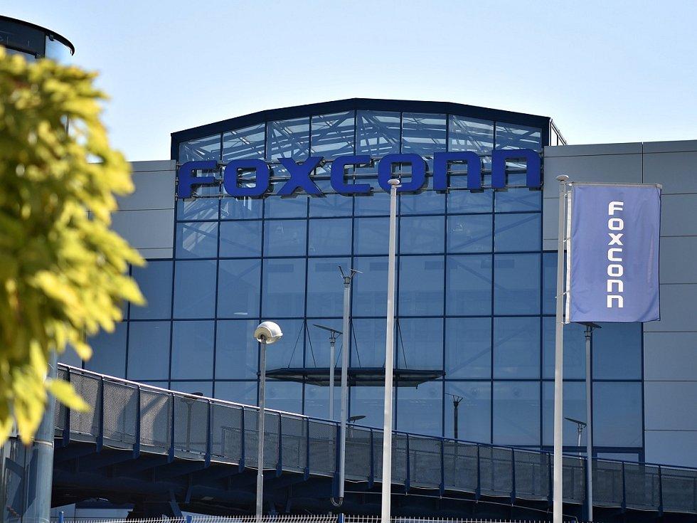 Kutnohorská pobočka společnosti Foxconn.