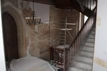 Rekonstrukce Vlašského dvora v Kutné Hoře.