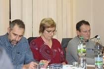 Nový místostarosta Onomyšle Pavel Novák (vlevo) a nová starostka Kateřina Klečáková.