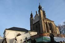 Kostel Všech svatých v Sedlci.