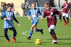 Fotbalový okresní přebor mladších žáků: FK Uhlířské Janovice - FK Čáslav C 9:2 (6:1).