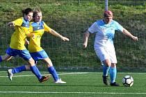 II. liga žen: FK Čáslav - FK Rakovník 6:3 (2:1).