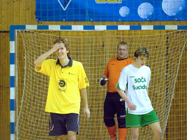 Z 15. kola CD futsal ligy.