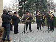 Poslední rozloučení s kutnohorským kapelníkem Miroslavem Jiřištou.