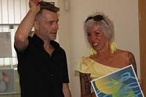 Výstava Gabriely Sedláčkové a Roberta Rambouska byla zahájena.