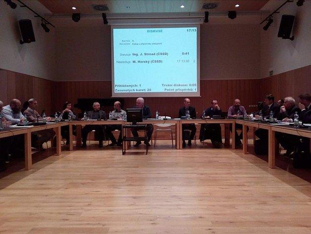 Zasedání čáslavského zastupitelstva 31.října 2016