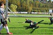 Fotbalový okresní přebor mladších žáků: FK Kovofiniš Ledeč nad Sázavou - FK Čáslav D 3:7 (1:4).