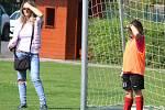 Z mistrovského turnaje fotbalových mladších přípravek ve Vrdech.