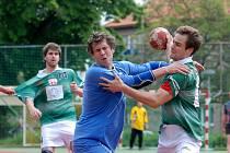 Utkání Společné regionální ligy házené mezi Kutnou Horou a Zručí n. S., 23. května 2010.