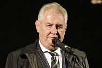 Prezident Miloš Zeman: ilustrační foto