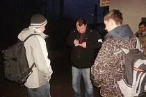 """Akce Policie ČR s názvem """"Železnice"""" na vlakovém nádraží v Čáslavi: 20. únor 2014"""