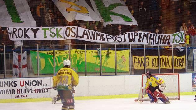 Poslední utkání kutnohorských hokejistů v sezóně 2008/2009.