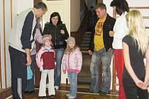 Den otevřených dveří pro předškoláky v Základní škole T. G. Masaryka v Kutné Hoře.