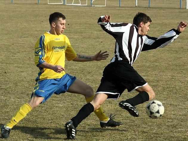 Přátelské utkání: Nové Dvory - Kaňk 3:1, 12. března 2011.