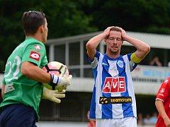 Fotbalisté Čáslavi porazili v 1. kole Divize C Pardubice B 2:1.