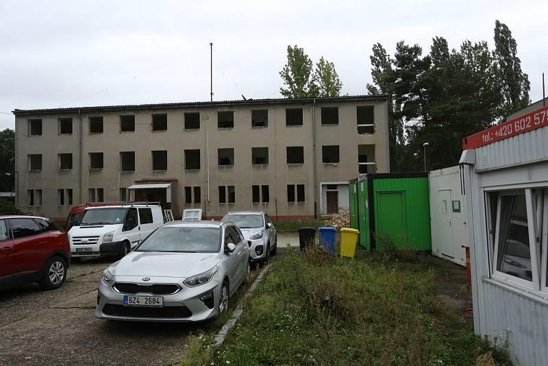 Ze zahájení rekonstrukce areálu kasáren v Kutné Hoře ve středu 22. září 2021.