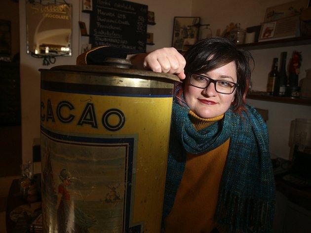 Lada Bartošová, majitelka čokoládovny a muzea čokolády vKutné Hoře.