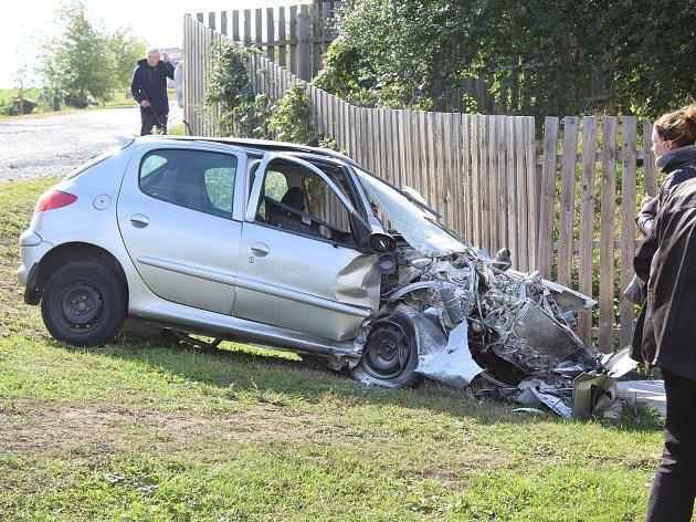 Autonehoda. Ilustrační foto.