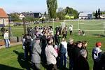 Setkání rodáků a přátel v Červených Janovicích u příležitosti 100. výročí vysvěcení kostela sv. Martina - program na fotbalovém hřišti.